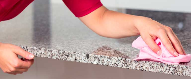 Clean and take care of your granite countertops the right way