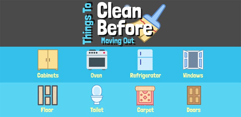 Our Move Out Cleaning Checklist: Follow Our Suggestions