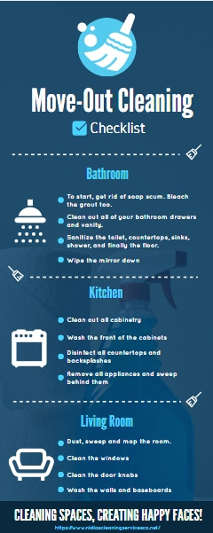 Things that a Move Out Cleaning Checklist Should Include
