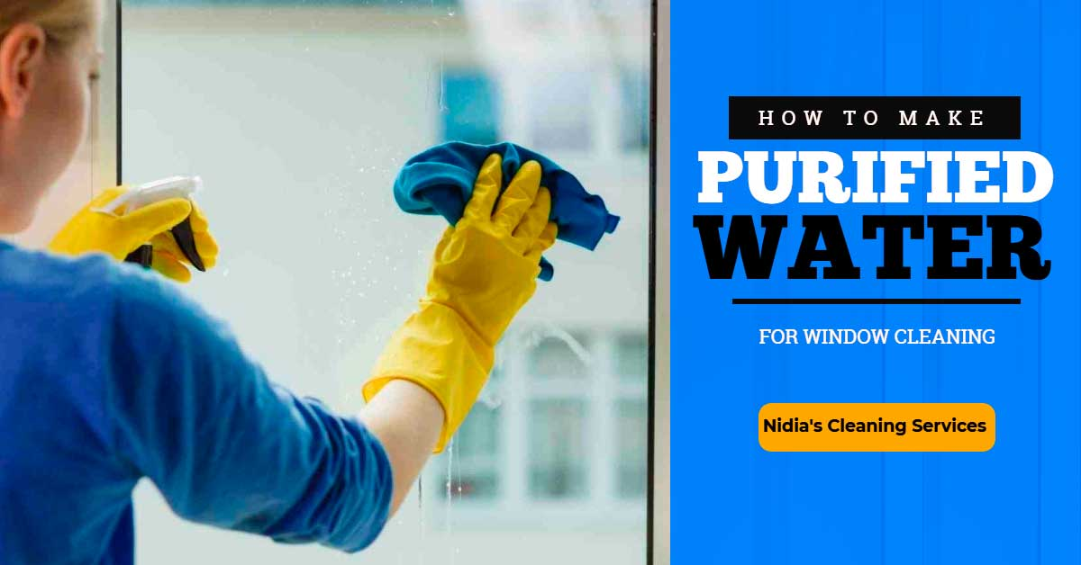 How to Make Purified Water for Window Cleaning