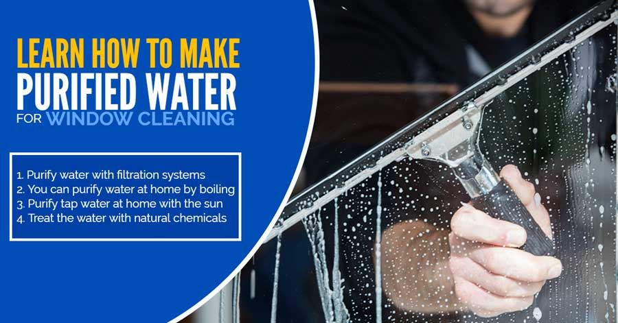 Why Pure Water for Window Cleaning